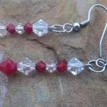 Red and Clear Swarovski Cry..