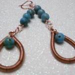 Turquoise Jasper and Copper..